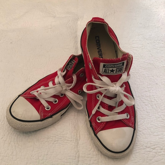 25b75aa0130fdc Converse Shoes - Converse All Stars Chuck Taylor Red Shoes